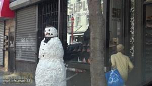 آدم برفی ترسناک خنده دار جدید خفن