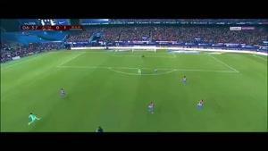 فیلم/ خلاصه دیدار تیم های فوتبال اتلتیکومادرید - بارسلونا