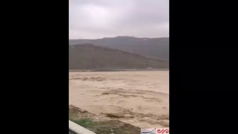 فیلم/ طغیان رودخانه دالکی