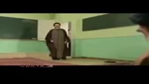 سکانس دیدار همافران با امام خمینی (ره) در سریال معمای شاه