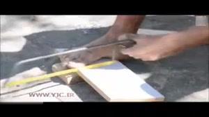 ساخت اسباببازی توسط فرد معلول