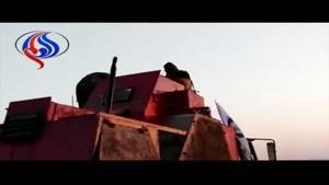 فیلم/کشف محموله شیمیایی داعش در موصل