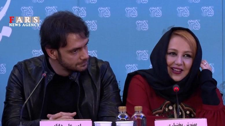 نشست خبری فیلم «انزوا» در جشنواره فیلم فجر