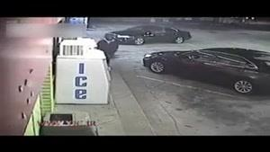 زورگیری از زن جوان در پشت فرمان خودرو