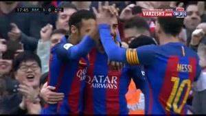 خلاصه بازی بارسلونا ۳-۰ بیلبائو