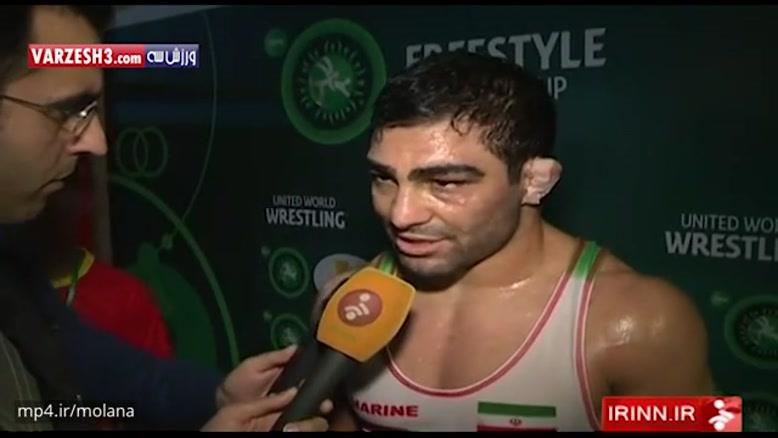 حواشی پیروزی مقتدرانه تیم ملی کشتی آزاد ایران مقابل ترکیه