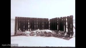 تاثیر انفجار بمب اتمی روی یک خانه کوچک