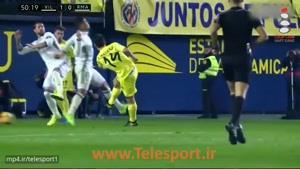 ویارئال ۲ - رئال مادرید۳ ؛ بازگشت رئال در دقایق پایانی