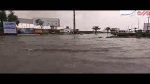 خیابانهای بوشهر جوی آب شد