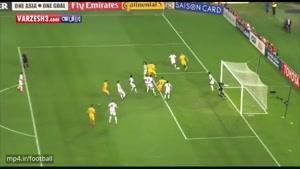 استرالیا ۲-۰ امارات