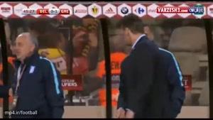 بلژیک ۱-۱ یونان