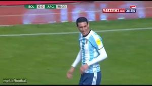 بولیوی ۲-۰ آرژانتین