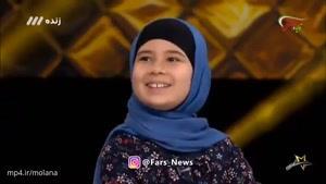 سوالهای علیخانی از دختربچه ۹ ساله