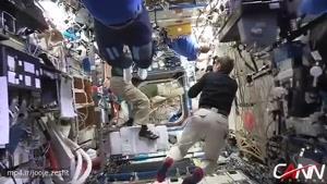 چالش مانکن در ایستگاه فضایی و در شرایط بی وزنی