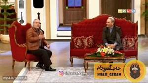 تیکههای مهران مدیری به اشتباهات خودجوش جواد خیابانی😂😂