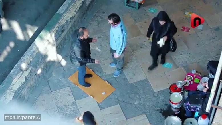 دوربین مخفی : فازت چیه؟ بزار نمازشو بخونه!!!
