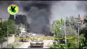 انهدام خودروی انتحاری داعش در غرب موصل