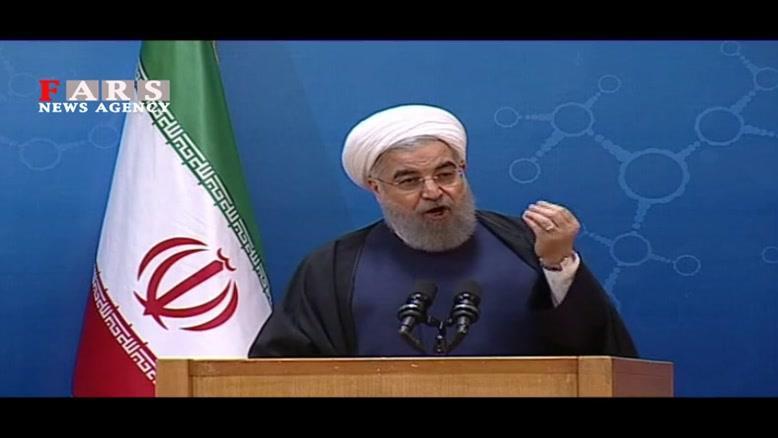 روحانی: اگر کسی صدای رعد و برق برجام را نشنیده شاید خواب بوده است!