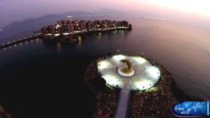 ساحل درخشان در هنگ کنگ