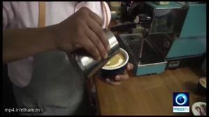 جشنوارۀ قهوه در لندن، نمایش روش جدید تهیۀ قهوۀ سرد