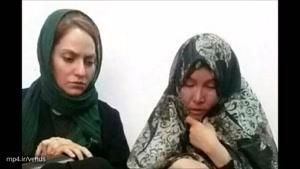 مهناز افشار در دیدار با خانواده دختری که زیر شکنجه های ناپدری جان داد/ رقیه چگونه جان داد؟