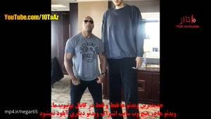 ۱۰تا از قد بلندترین آدم های جهان که هنوز در قید حیات هستند
