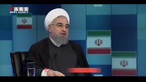 روحانی رقبای انتخاباتی را به برخورد خشن با مردم متهم کرد!