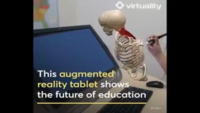 تبلت مجهز به واقعیت افزوده تصاویر سه بعدی می سازد