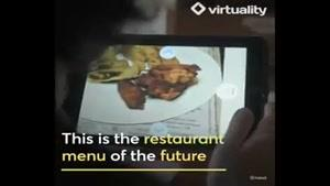 با این اپلیکیشن غذایتان را سه بعدی ببینید!