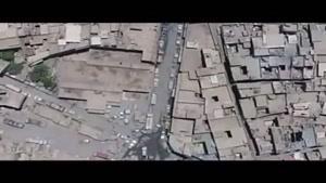 حمله هوایی به مواضع داعش در غرب موصل