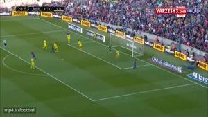 بارسلونا ۴-۱ ویارئال (درخشش MSN)