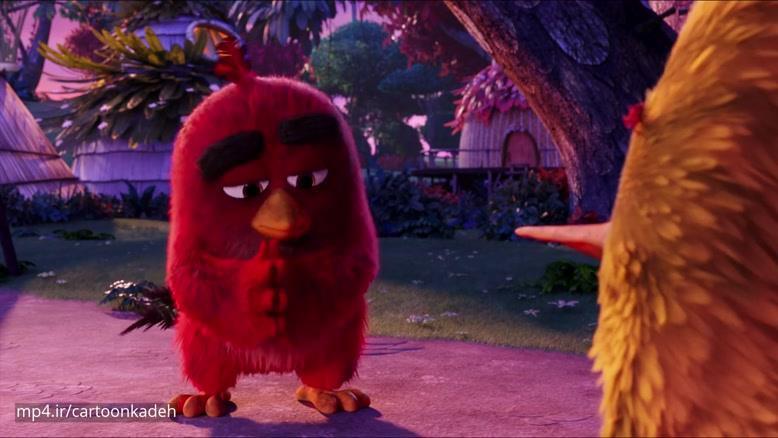 انیمیشن پرندگان خشمگین زبان اصلی