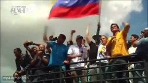 اجتماع 200هزار نفری مخالفان دولت ونزویلا