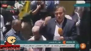 دستهگلی جدید از خبرنگار رسانه ملی