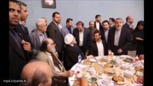صحبت های درگوشی محمدرضا گلزار با دکتر روحانی در ضیافت افطار چه بود؟