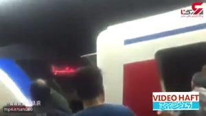 تصادف دو قطار مترو در ایستگاه طرشت