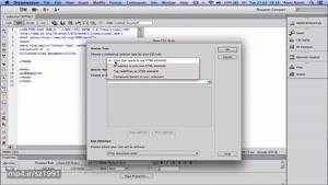 اموزش dreamweaver (دریم ویور)-جلسه ۶ - اجرای css