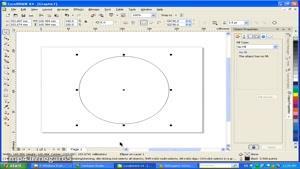 ۲۴- سعید طوفانی - آموزش کرل - سه بعدی سازی قسمت سوم - گرافیک - Corel Draw