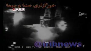 چهارمین فیلم اصابت موشکهای سپاه در مقر داعش