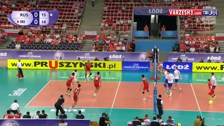 روسیه 3-0 ایران