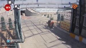 فيلم جديد از ورود اعضای داعش به حرم امام / نجات عجیب یک رهگذر