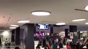 ویدئوی شادی مردم در پردیس چارسو هزمان با صعود مقتدرانه ایران به جام جهانی