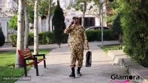 محمد امین کریم پور _ سربازی