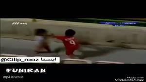 دعوای دو کودک در بازی پرسپولیس که فردوسی پور رو شوکه کرد