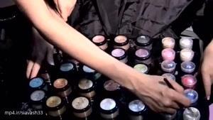 آموزش آرایش مدل عروس