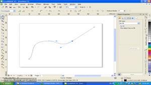 ۴۱- سعید طوفانی - آموزش کرل - تایپ روی مسیر - گرافیک - Corel Draw