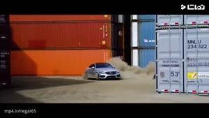 نبرد هیجانی پارکور با بنز کوپه و ماشین کنترلی