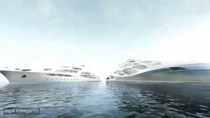 قایق فوق مدرن ساخته زاها محمد هدید