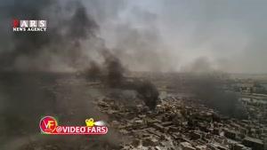 تصاویر هوایی از موصل پس از آزادسازی
