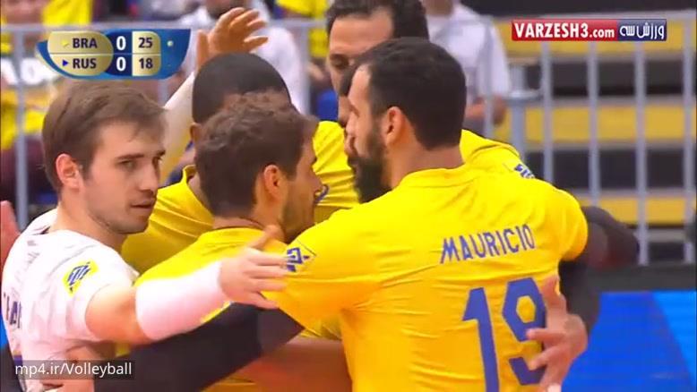برزیل 3-2 روسیه